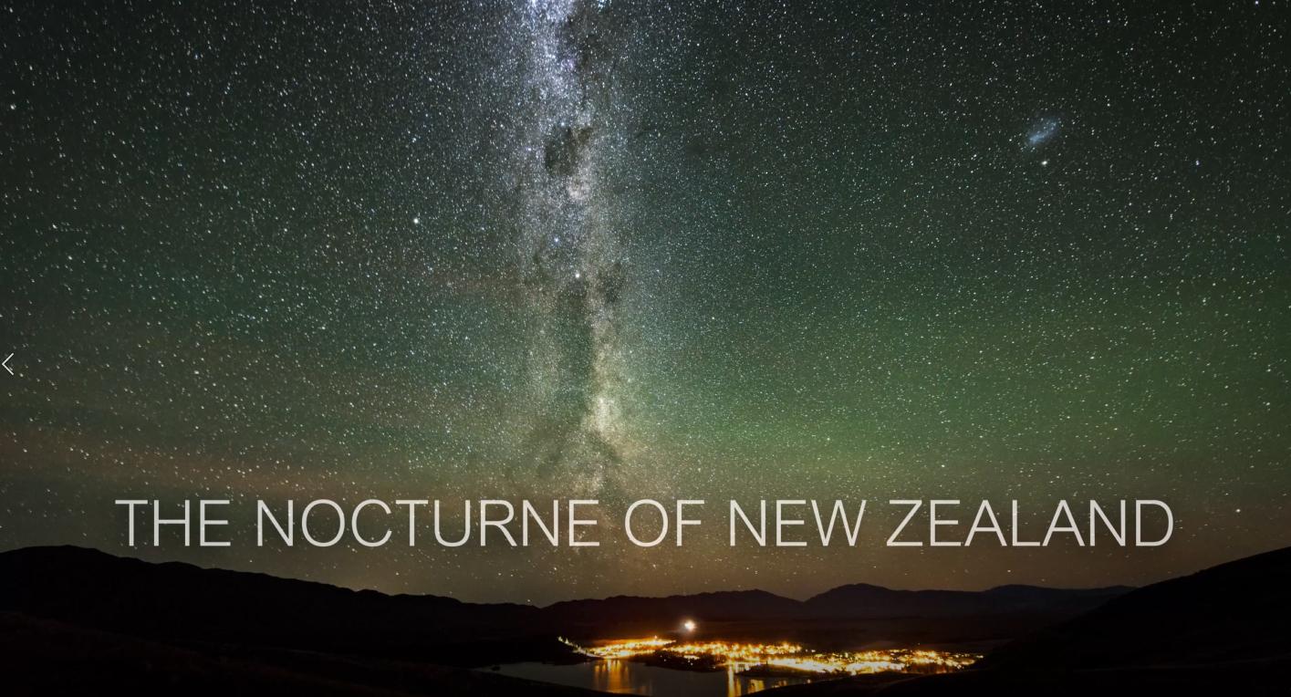 금상 / The Nocturne of Newzealand / 노호영
