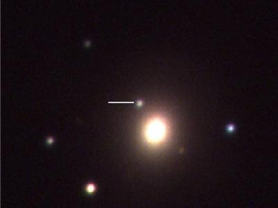천체에서 오는 중력파와 감마선, X-선, 가시광선 등 전자기파 신호의 동시 관측 최초 성공 이미지