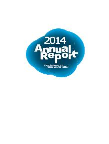 Annual Report 2014 Image